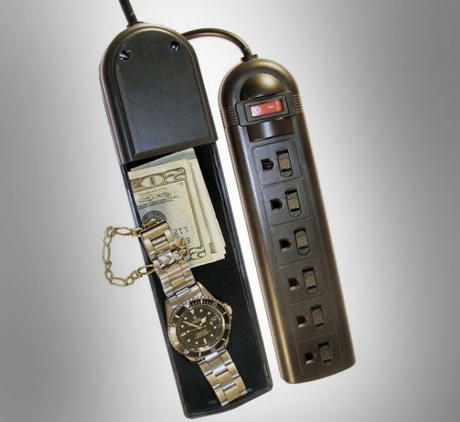 Surge protector hidden safe for How to buy a home safe