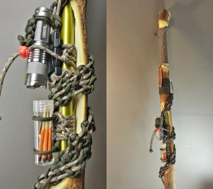 Survival Hiking Stick