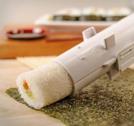 Sushi Bazooka Gun Makes Perfect Sushi Rolls Every Time