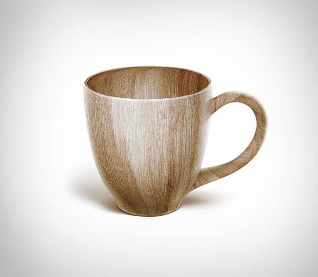 Sustainable Wooden Coffee Mug