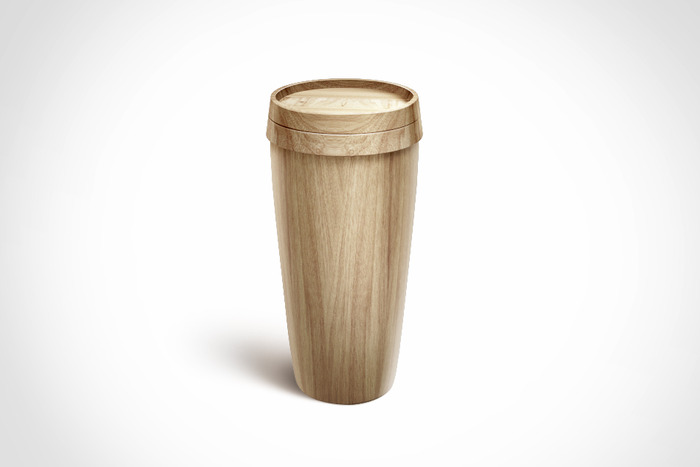 Sustainable Wooden Coffe Mug