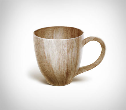 Sustainable Wooden Coffee Mug
