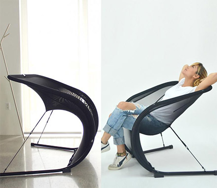 Suzak Chair: A Weird Net Chair Thing That's Probably Comfy