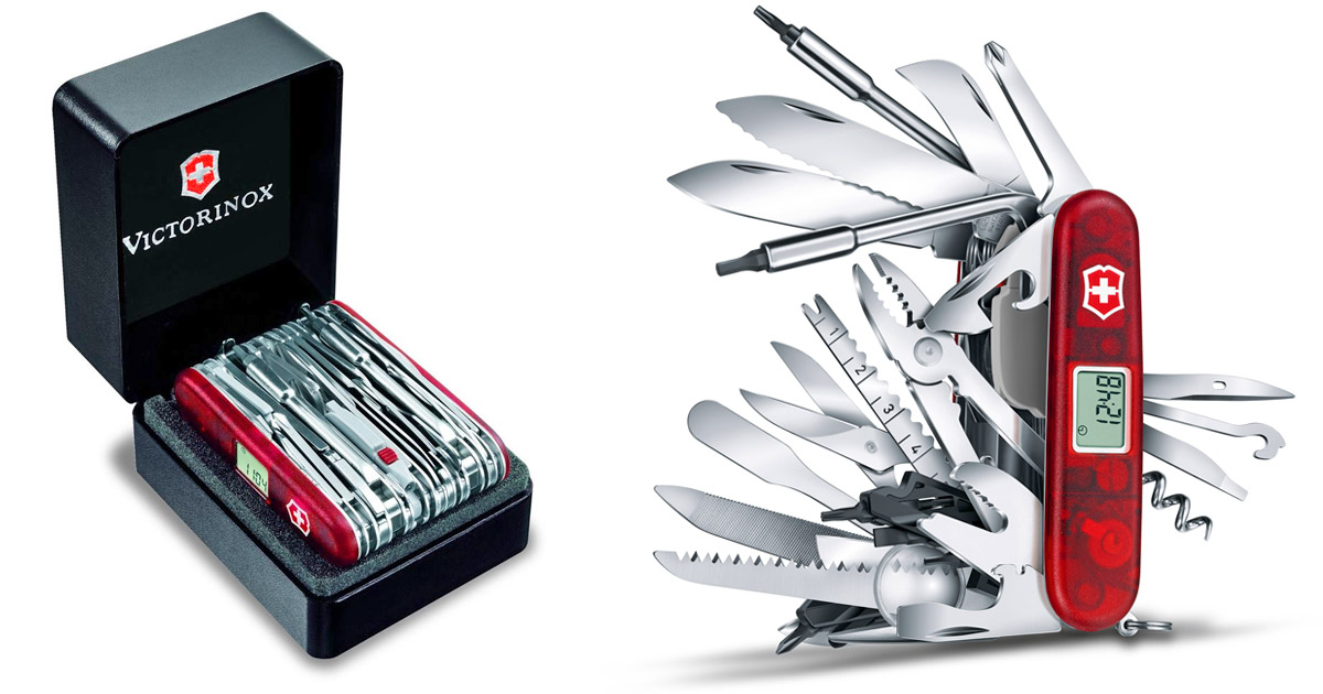 Swisschamp Xavt 83 Function Swiss Army Knife