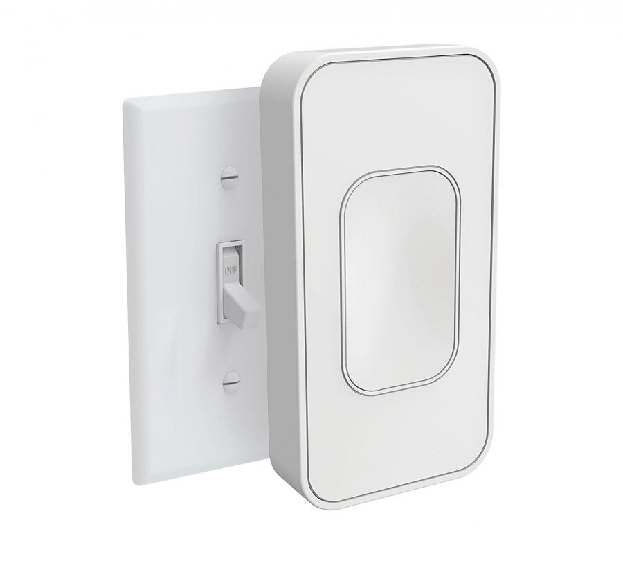 Rocker Light Switch >> Switchmate: Smart Light Switch Installs Over Existing Switch