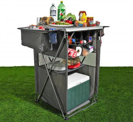 Tailgaiting Tavern: A Popup Serving Table and Prep Center