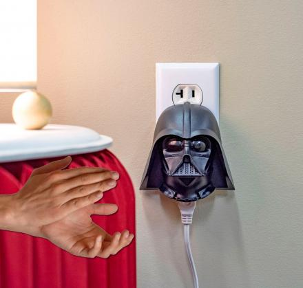 Talking Darth Vader Clapper - Turns On/Off Lights By Clapping
