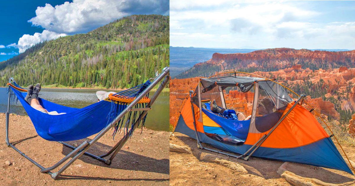 Tammock: A Portable Hammock That Sets Up Anywhere