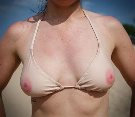 TaTaTop: A Skin Colored Bikini With Nipples