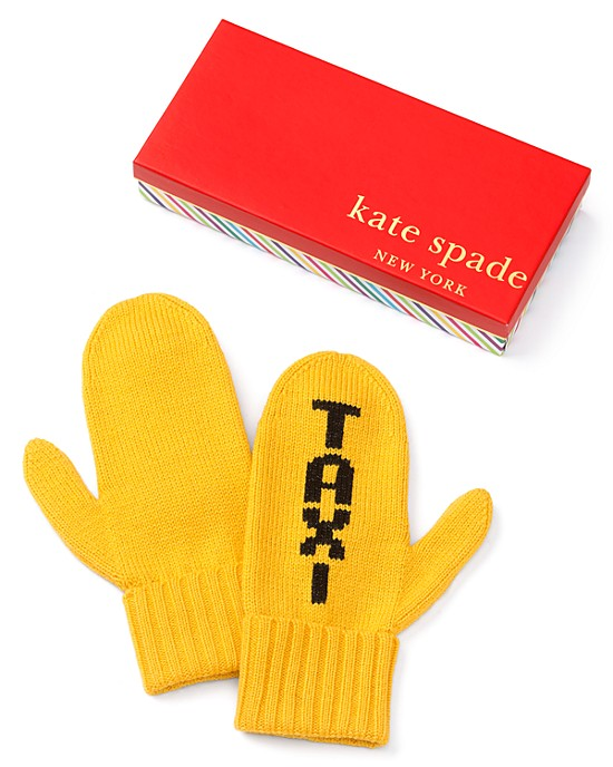 New York Taxi Mittens