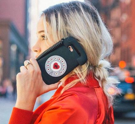 Tele 3D iPhone Case Makes Phone Look Like a Retro Rotary Phone