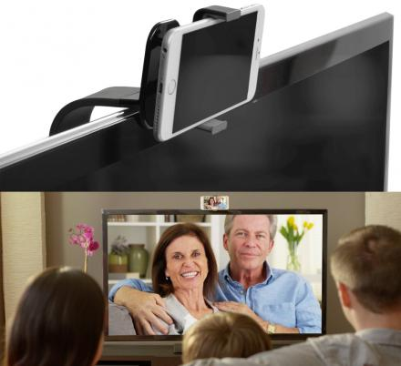 TellyMount Lets You Use Your Smart Phone For Video Calls On Your TV