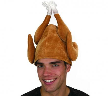 Thanksgiving Brown Turkey Hat - Because Why Not?