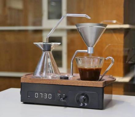 The Barisieur Coffee Alarm Clock Wakes You Up With Freshly Brewed Coffee