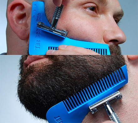 The Beard Bro Helps You Shape Your Beard Perfectly Every Time