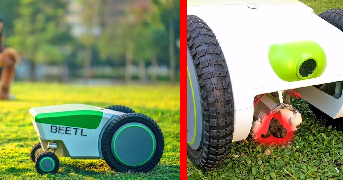 The Beetl Is a Roomba-Like Robot That Roams Around Your Yard, Picking Up All The Dog Poop It Finds