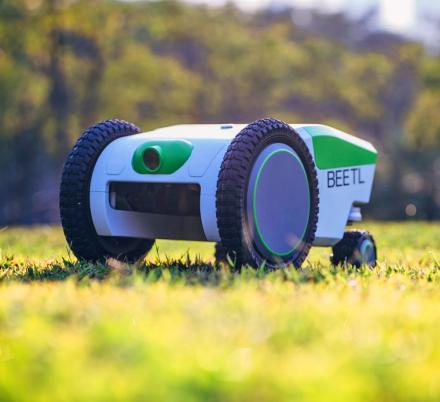 The Beetl Is An Autonomous Robot That Finds And Picks Up Dog