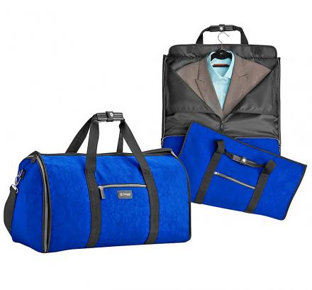 The Biaggi Hangeroo Turns Your Garment Bag Into a Duffel Bag