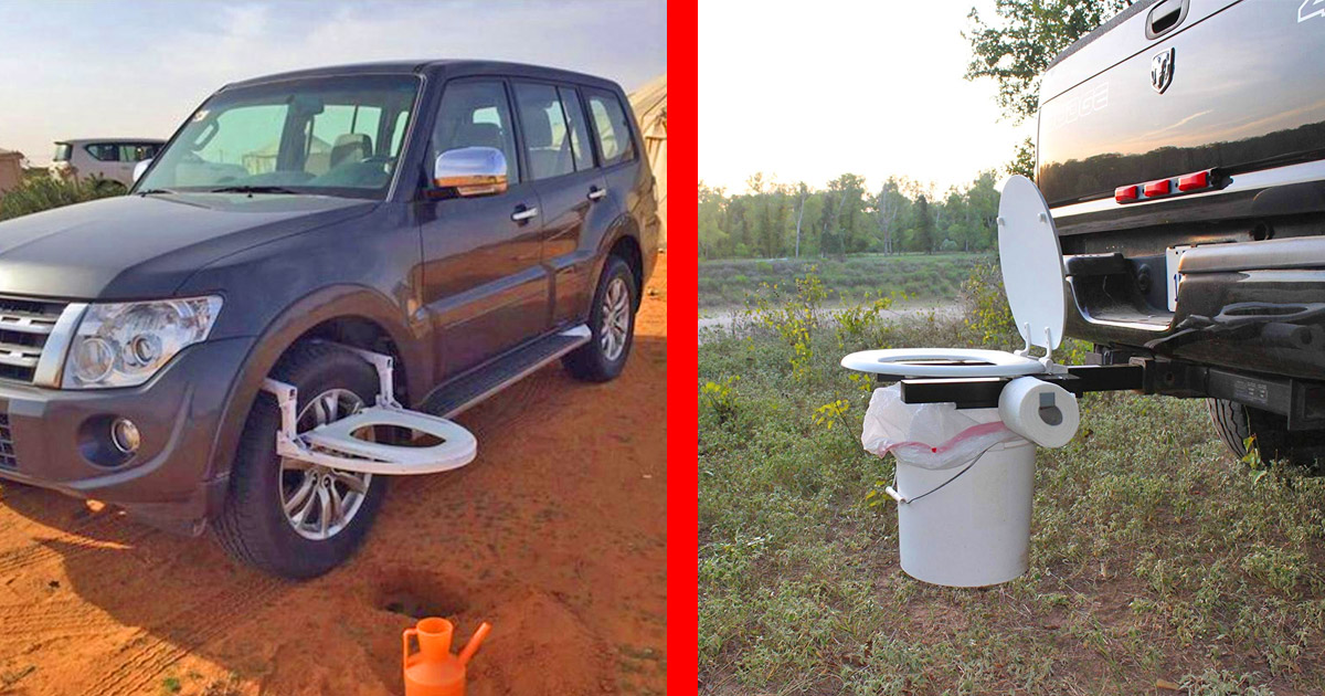 The Bumper Dumper Is A Portable Toilet For When You Can T Hold It In While Traveling