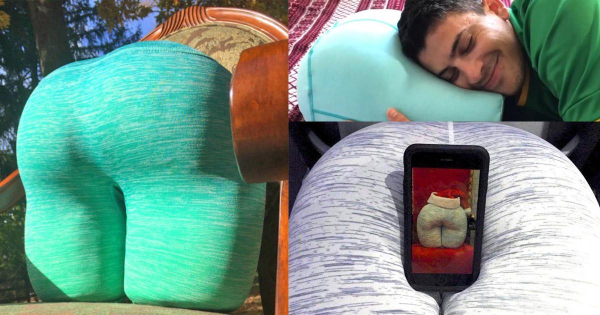 The Buttress A Butt Shaped Pillow