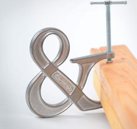 The Clampersand is a Clamp Shaped Like an Ampersand