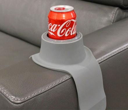 The Couch Coaster Gives Your Couch Armrest a Cup Holder