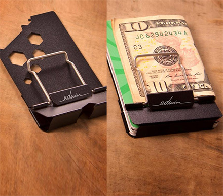 The Edwin Wallet Is a Multi-Tool Wallet With a Bottle Opener