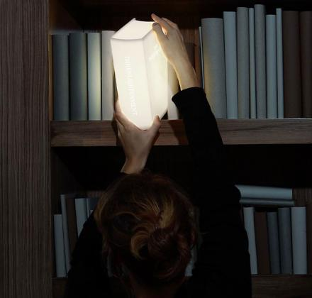 The Enlightenment Lamp: A Book Shaped Light