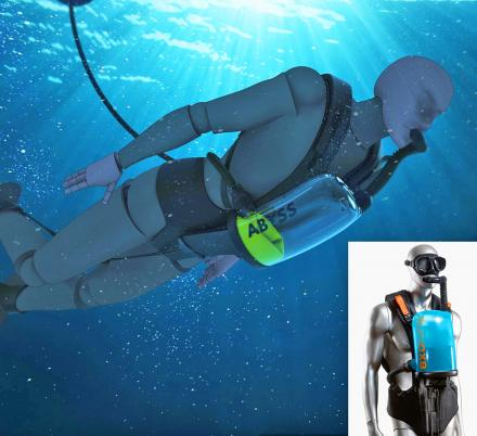 The ExoLung Is a Revolutionary Scuba Rig That Lets You Breathe Infinitely Underwater