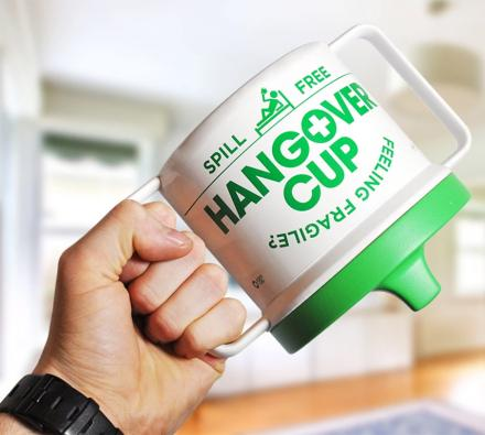 The Hangover Cup Is A Giant Sippy Cup For Hungover Adults