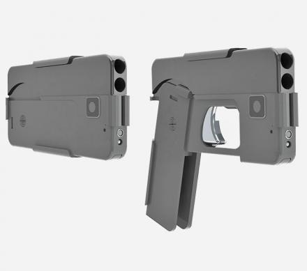 The Ideal Conceal Hand Gun Collapses Down To The Shape of a Smart Phone