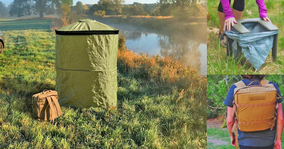 The Instaprivy Is An Incredible Portable Toilet That Fits
