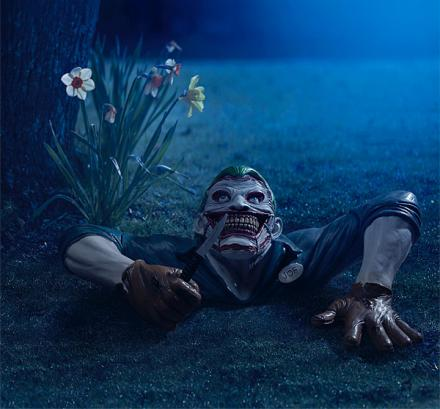 The Joker Creepy Lawn Ornament