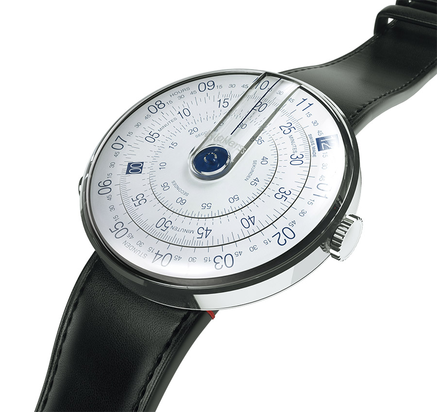 the klokers watch uses three separate rotating rings to