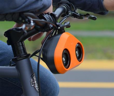 The Loud Mini Is a Bicycle Horn That Sounds Like a Car Horn