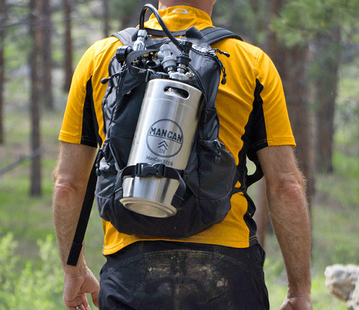 The Mancan Is A Personal Beer Keg That You Can Take Anywhere
