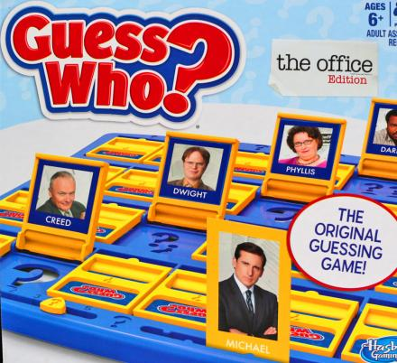 There's Now The Office Guess Who Board Game, As Well As Friends, Seinfeld, and More