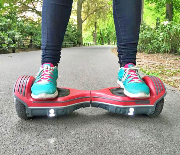 The Oxboard Is An Electric Segway Scooter Without The