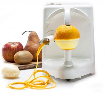 The Pelamatic Orange Peeler Pro Perfectly Peels The Skin From Fruit