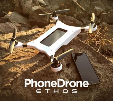 The Phone Drone Turns Your Smart Phone Into A Flying Drone