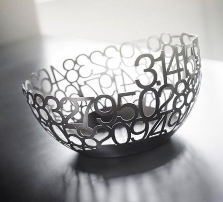 The Pi Bowl Is a Large Bowl Made From Pi Numbers