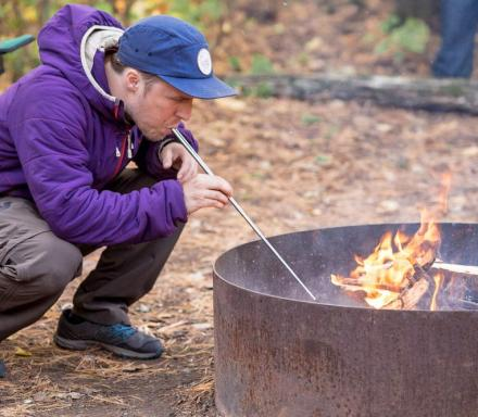 The Pocket Bellows Helps You Blow On Fires From A Distance
