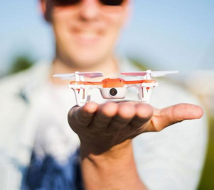 The Skeye Mini Drone Is A Tiny Drone With an HD Camera Inside Of It