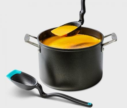 The Spadle: A Cooking Spoon and Ladle In One
