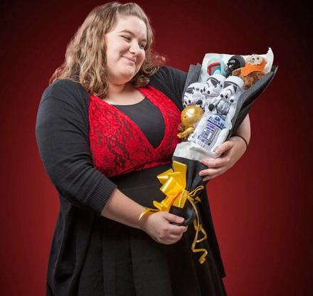 The Star Wars Bouquet: A Valentines Gift For the Geek In Your Life