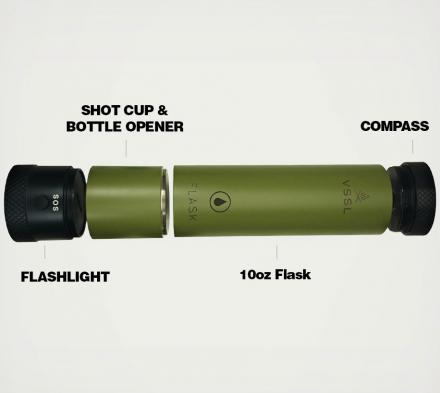 VSSL: Outdoor Utility & Survival Tools Packed into a Functional Cylinder