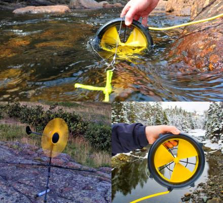 The WaterLily Off-Grid Generator Can Recharge Your Devices Using River Water and Wind