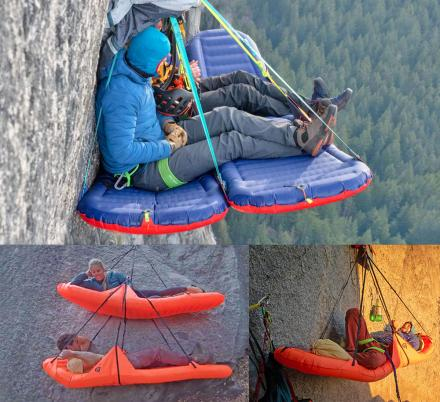 The World's Lightest, Inflatable Climbing Ledge