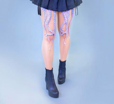 There Are Now Tentacle Tights That Help You Become Ursula From The Little Mermaid