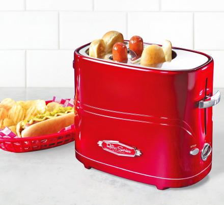 There's a Hot Dog Toaster That'll Also Toast Your Buns For Super Quick and Easy Meals